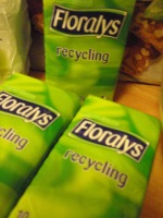 Recyclade recyclings-näsdukar