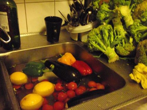 Grönsaksbad