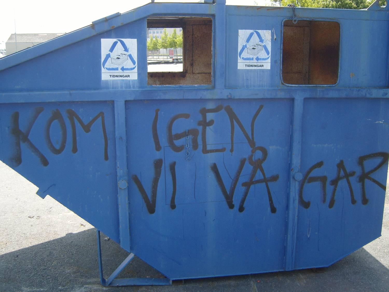 Dumpsterdiving, sopdykning